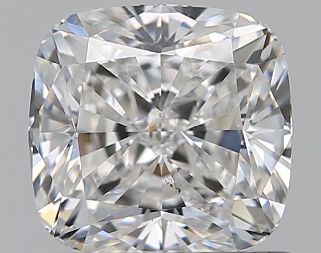 0.81-Carat Natural Ideally Cut Cushion Diamond