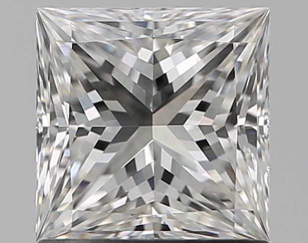 1.01-Carat Natural Ideally Cut Princess Diamond