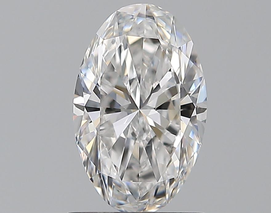 0.90-Carat Natural Ideally Cut Oval Diamond
