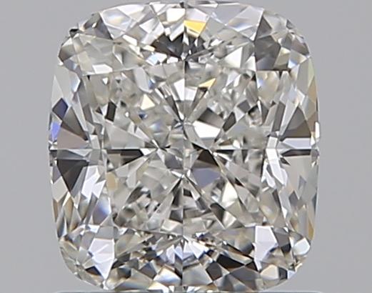 1.00-Carat Natural Ideally Cut Cushion Diamond